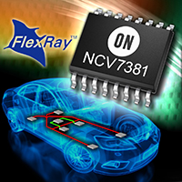 On Semiconductor introduces high-speed Flex-Ray bus transceiver