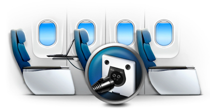 Carriers select Astronics' 110 VAC and USB in-seat power systems