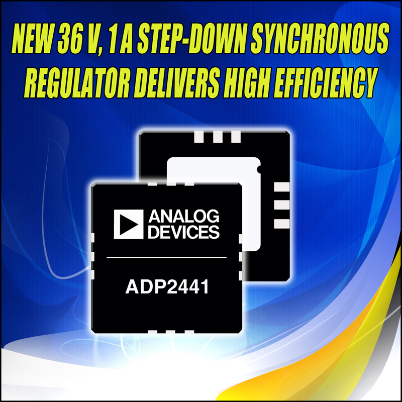 36-V, 1-A Step-Down Synchronous Regulator Simplifies Intermediate Power Bus and Point-of-Load Power Designs
