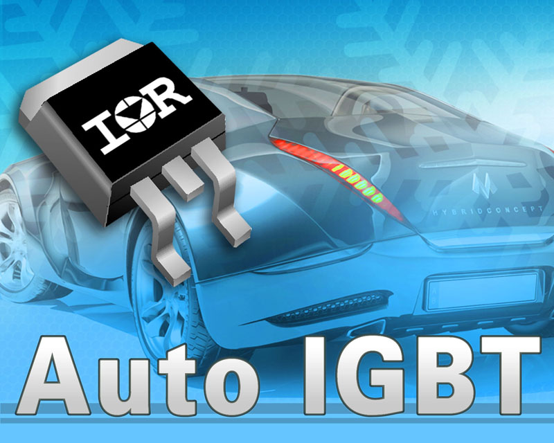 IRs Automotive-Qualified 600V Trench IGBTs in D2Pak Delivers High Power Density in Hybrid and Electric Vehicle Applications