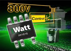 iWatt launches latest off-line primary-side PWM power converter
