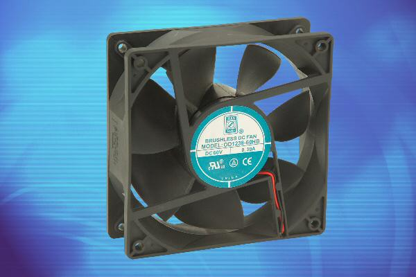 Low-energy-consumption fans provide 30% power savings in LED cooling applications