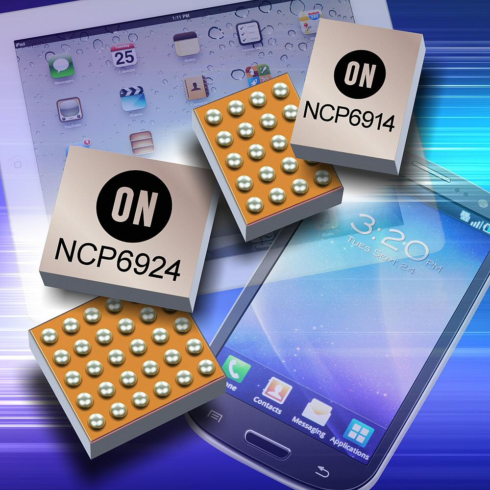 New ON Semiconductor PMICs provide multi-channel operation; draw low I<sub>Q</sub>