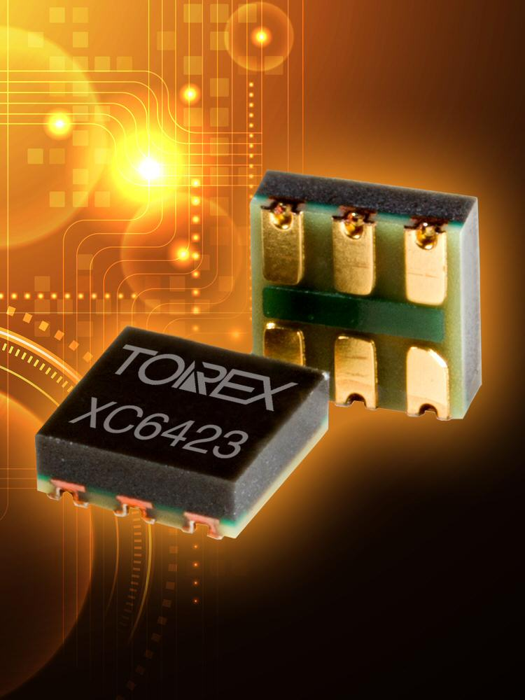 Torex Semiconductor offers XC6423 dual channel CMOS LDO regulators