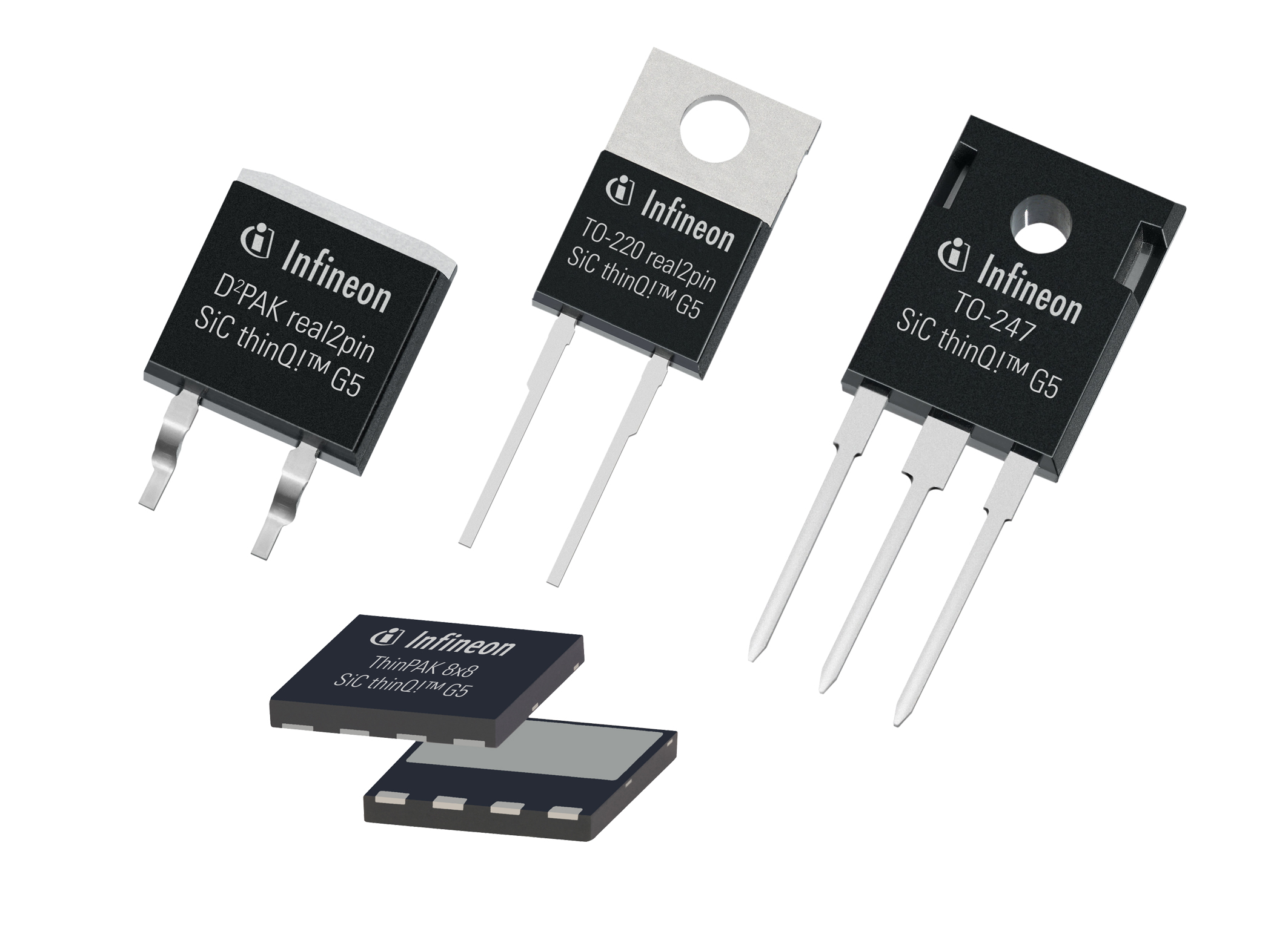 Infineon Introduces 5th Generation SiC Schottky barrier diodes