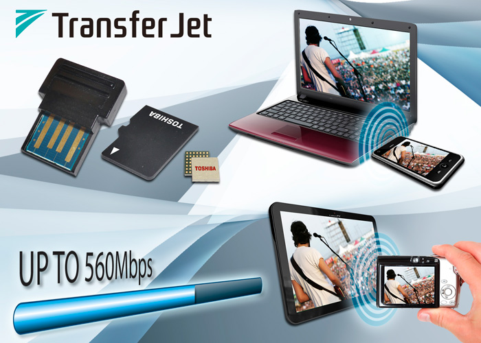 Toshiba expands TransferJet offering for close-proximity wireless transfer