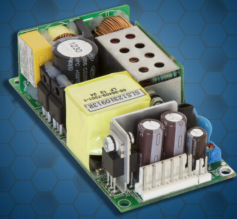 SL Powers industrial-grade high-efficiency cost-effective 150-W power supply offers high density
