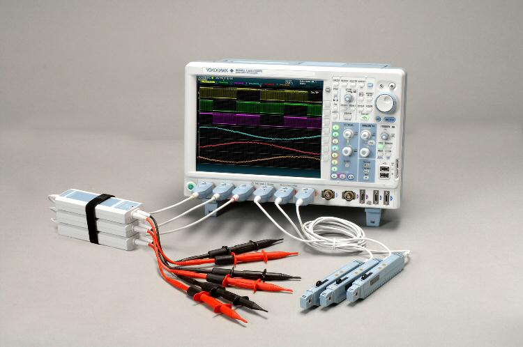 Yokogawa launches new eight-channel mixed-signal oscilloscope