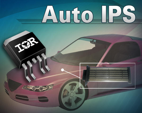 IR introduces AUIR3320S intelligent power switch for auto PTC heaters