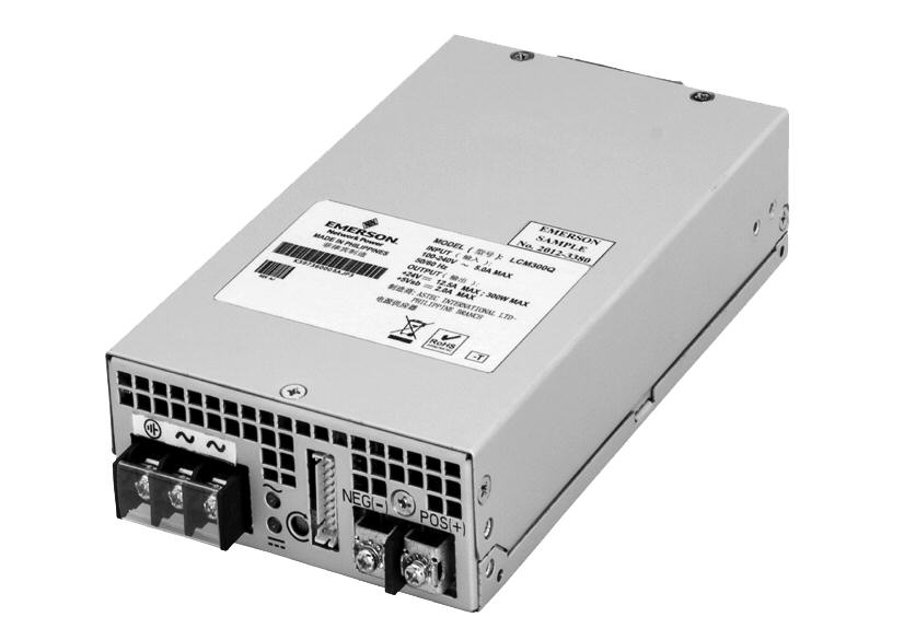 Emerson Network Power extends cost-competitive LCM power-supply family with new 310- and 1,500-W models