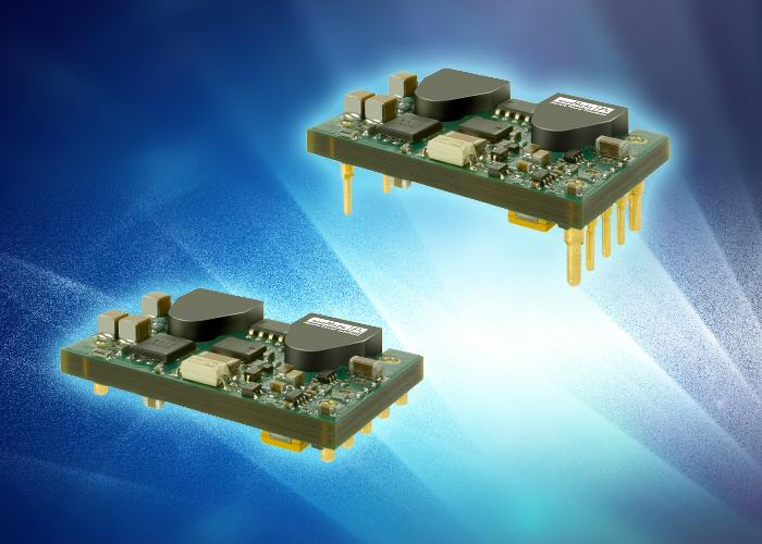 New 100-W DC-DC converter in 1/16-brick package