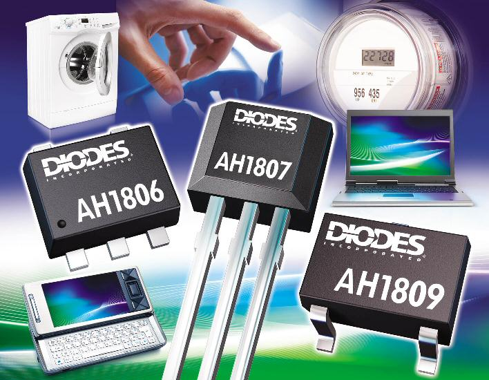 Diodes Incorporated's Hall switches optimize sensitivity