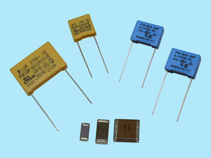 Tecate's X- and Y-class capacitors available in both SMD and radial-box form factors
