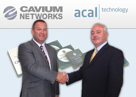 ACAL Signs Sales Franchise Agreement With Cavium Networks Inc.
