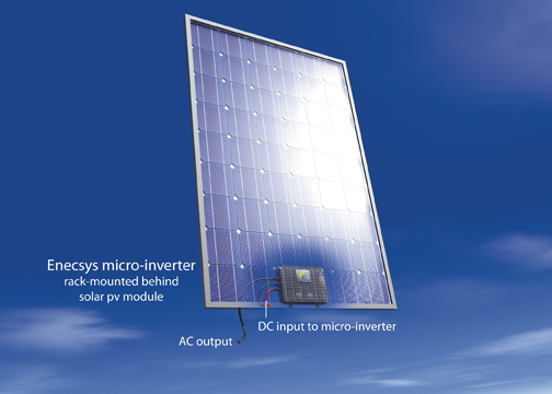 Enecsys at Solar Power International 2010: First North American Demonstration of Ground-Breaking Solar PV Micro-Inverters