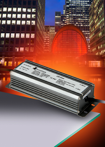 Excelsys LED Power Supplies are 92% Efficient and Waterproof