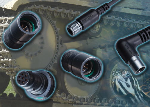 ACAL Technology Samples New Amphenol Terrapin Connectors for Military Communications