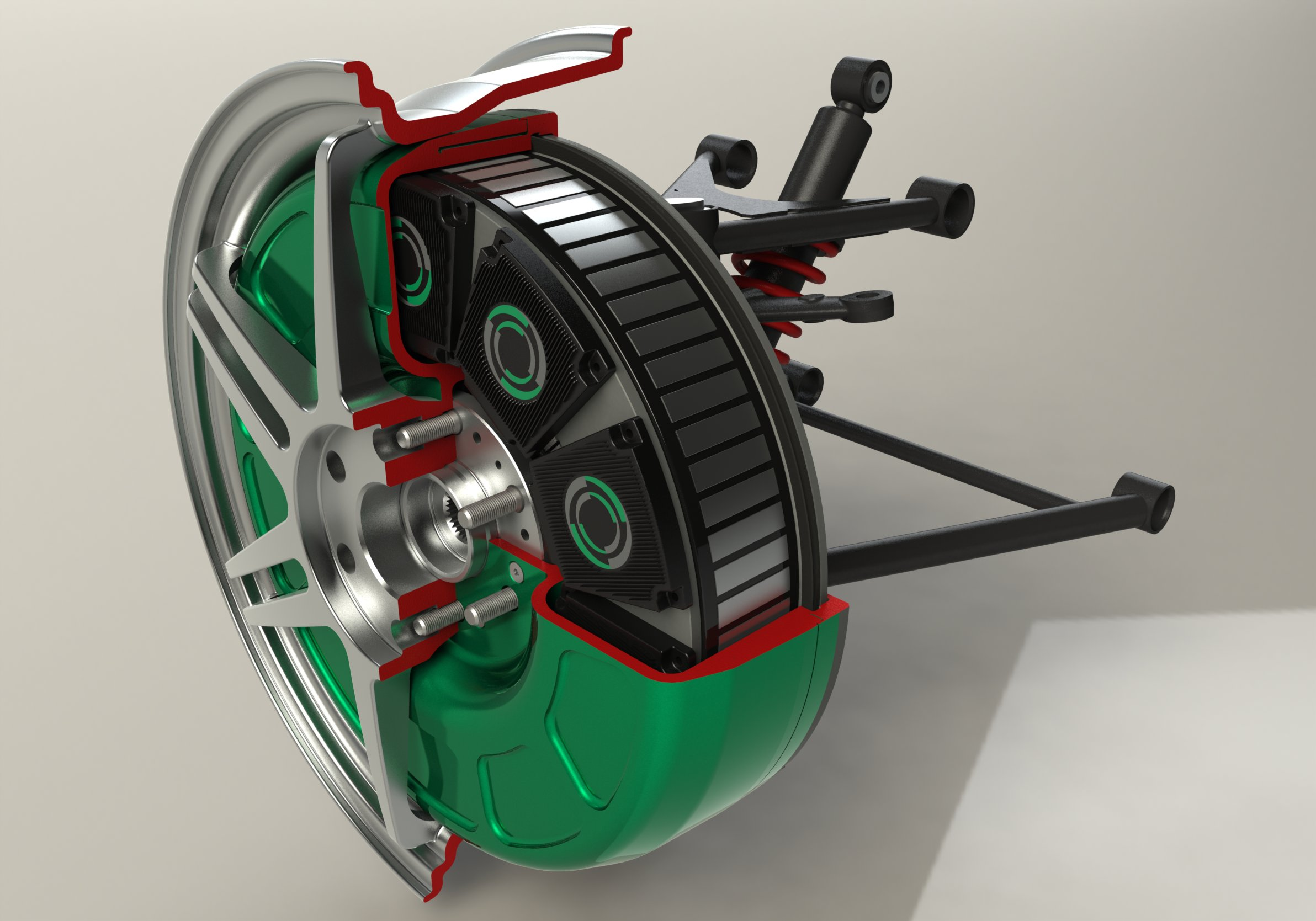 TT electronics Develops Advanced Modules for in-Wheel Electric Drive