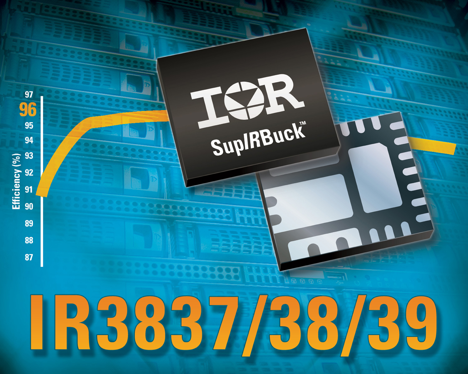 IR's New Family of Highly Integrated SupIRBuck™ Point-Of-Load Voltage Regulators Delivers Even Greater Efficiency and Functionality