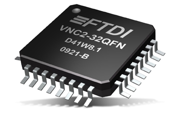 Mouser Delivers Second Generation FTDI USB Host Controller IC