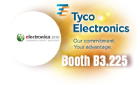 Tyco Electronics to Introduce Circuit Protection Devices at electronica 2010