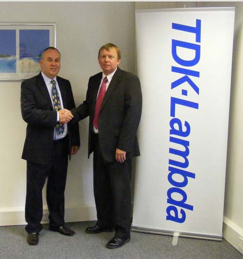 TDK-Lambda Signs UK Distribution Deal with Ideal Power