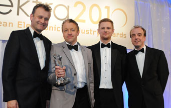Energy Micro Wins Elektra's Start-Up of the Year Award