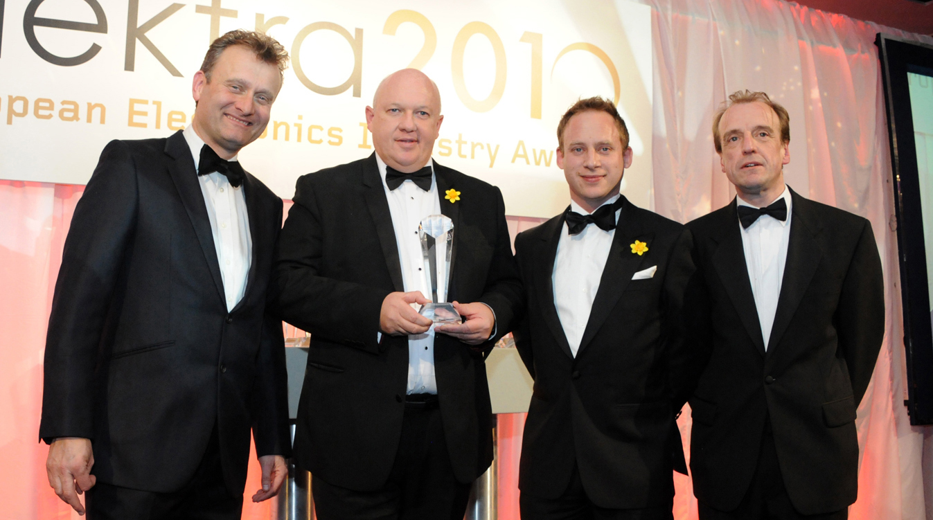Mouser Takes Home Top Honors, Winning the Prestigious Elektra 2010 European Distributor of the Year