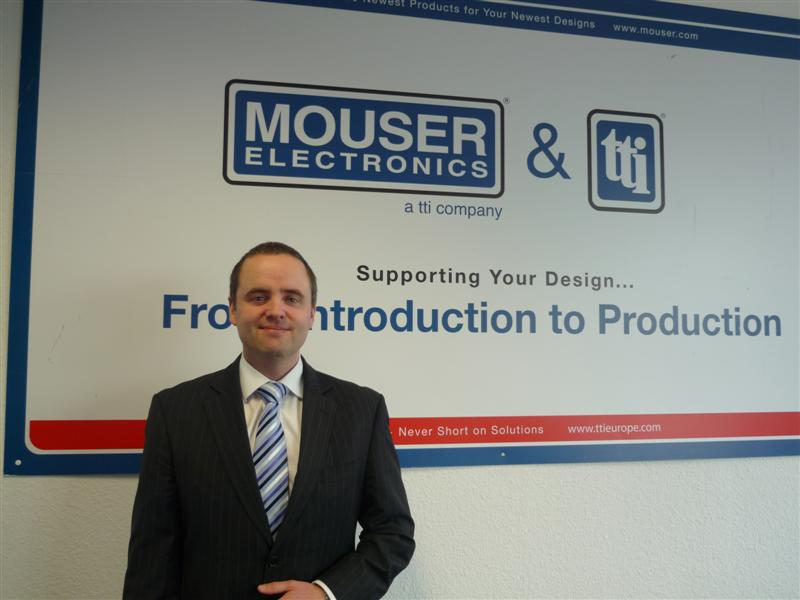 TTI  Announces Felix Corbett as Director of Supplier Marketing, Passives and Discrete Products, Europe