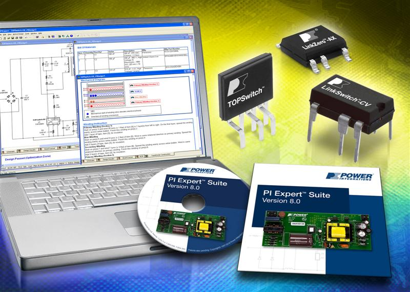 Power Integrations Launches New Multi-Language  'PI Expert Suite' PSU Design Software
