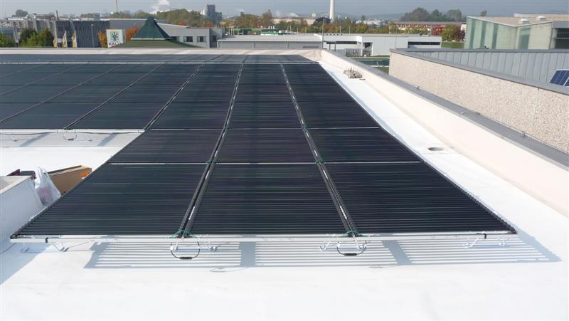 Solyndra Presents its first 46kWp in Slovenia
