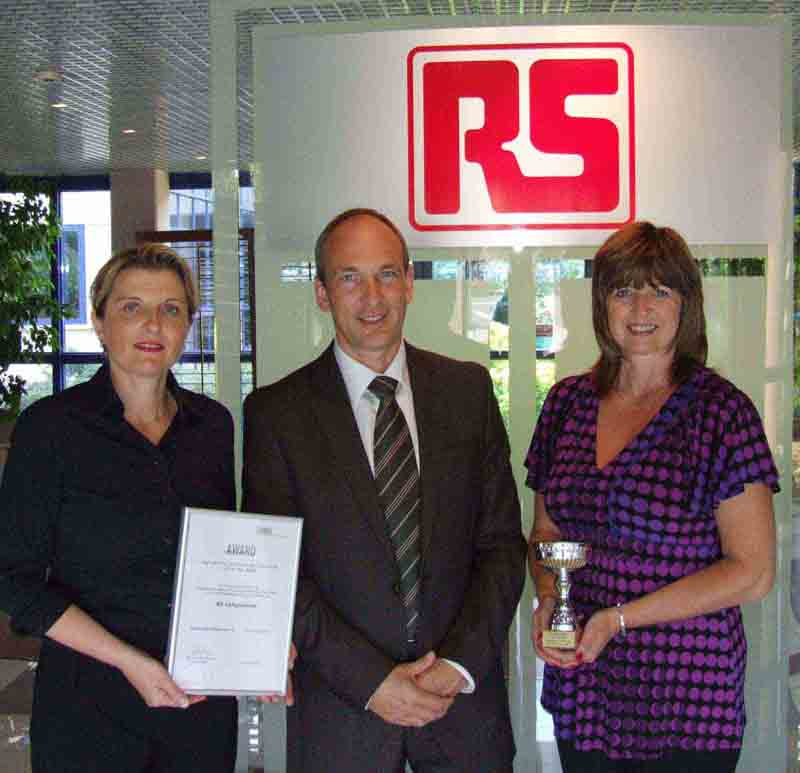 RS Components lands TRACOPOWER Distributor award