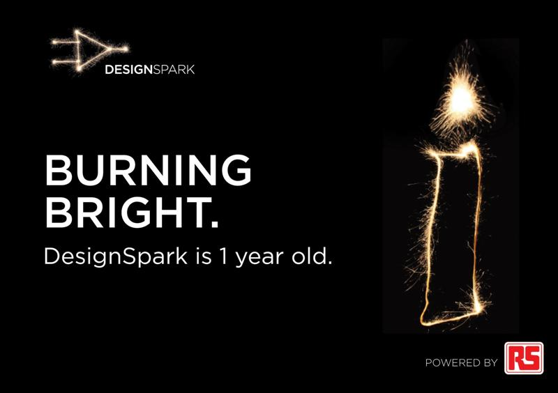 RS Components celebrates one year of DesignSpark success