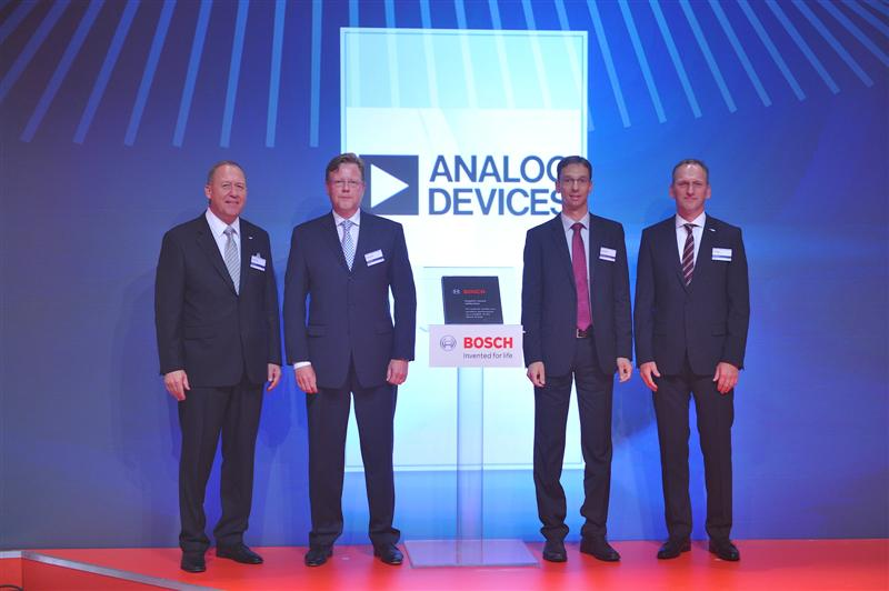 Bosch Presents Analog Devices With Prestigious Supplier Award