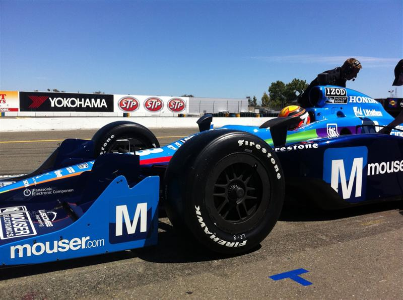 Mouser Electronics Sponsors Chinese Sensation Ho-Pin Tung at the Indy Grand Prix at Sonoma