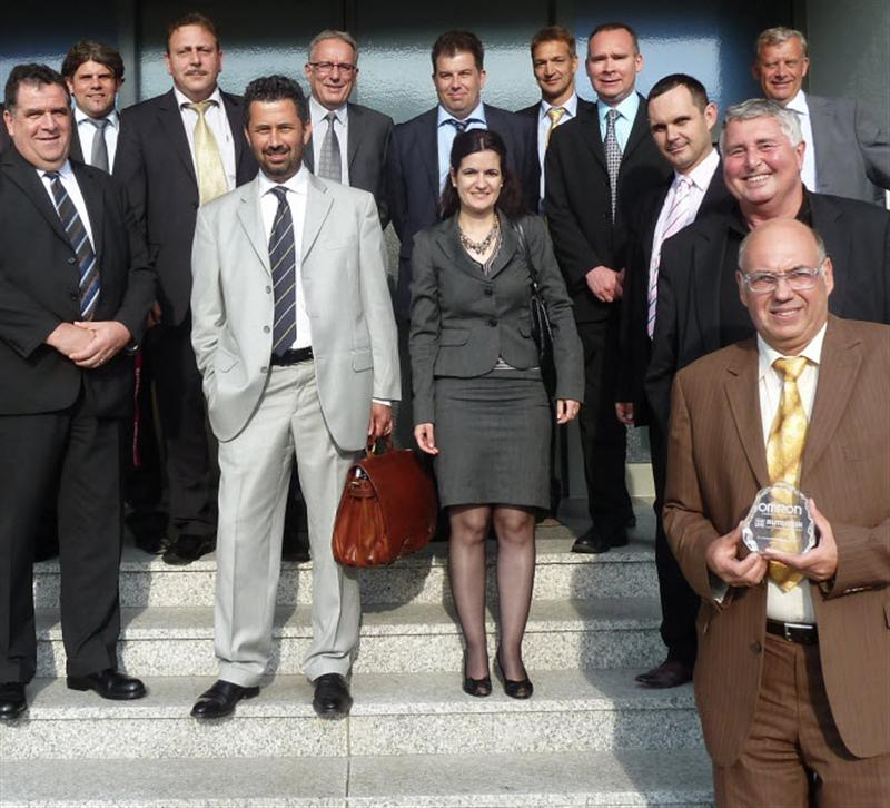Rutronik awarded European Distributor of the Year 2010/2011 for Omron Electronic Components