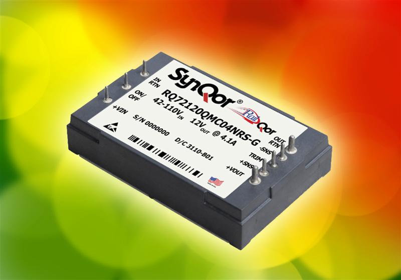 New SynQor DC-DC Converters for Transportation Applications Available from Luso Electronics