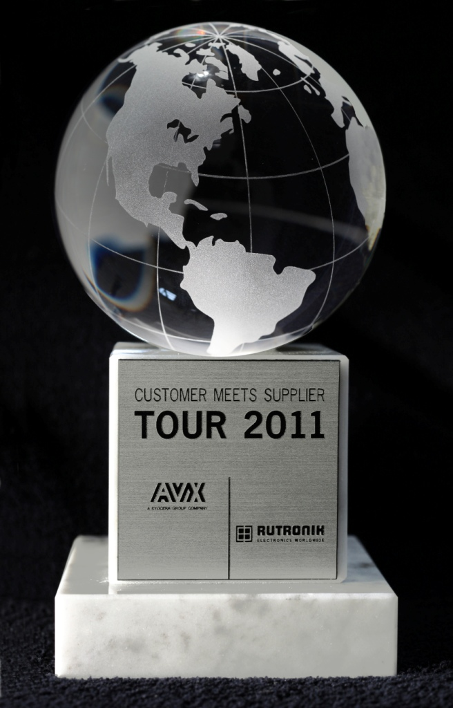 AVX Hosts Rutronik Customer Meets Supplier Tour