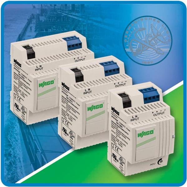 WAGO EPSITRON Compact Power Supplies Earn GL Approval