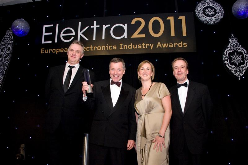 Tektronix wins Elektra 2011