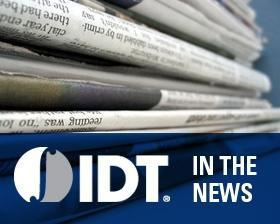 IDT to Exhibit Industry-leading Innovative Mixed-signal Products at 2012 CES
