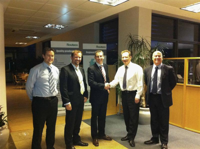 Molex announces distribution agreement with Routeco in UK