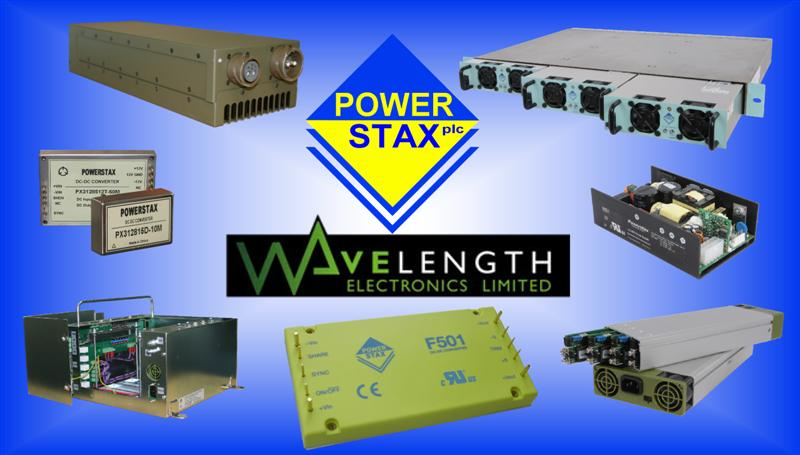 Powerstax Appoint Wavelength Electronics as UK Manufacturers Representative for MIL Power Solutions
