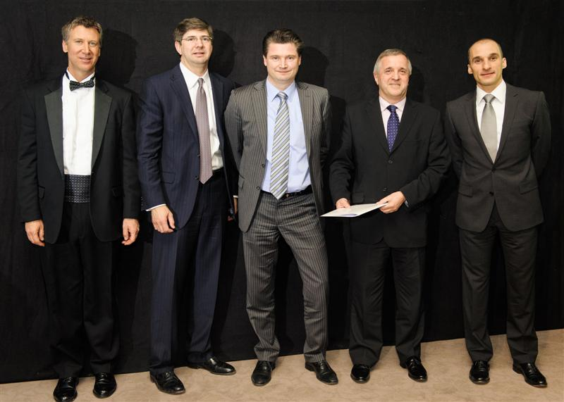 Acal BFi receives 2011 Distributor Gold Performance Award for EMEA from Honeywell Sensing and Control