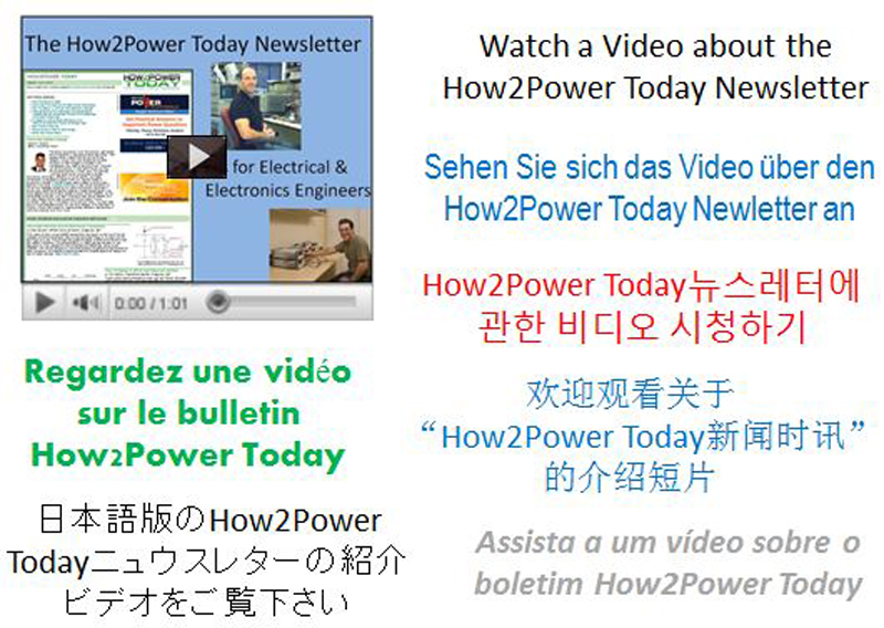 New Videos Introduce Free Power Electronics Publication
