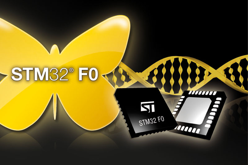 STMicroelectronics Leverages STM32 DNA, Targeting Budget Applications
