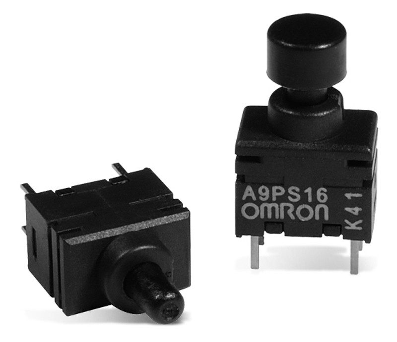 Omrons A9PS Ultra Subminiature Pushbutton Switches Now at Mouser