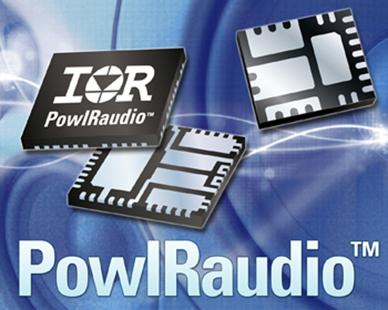 IR's Compact PowIRaudio™ Modules Reduce Component Count, Shrink PCB Size up to 70 Percent and Simplify Class D Amplifier Design