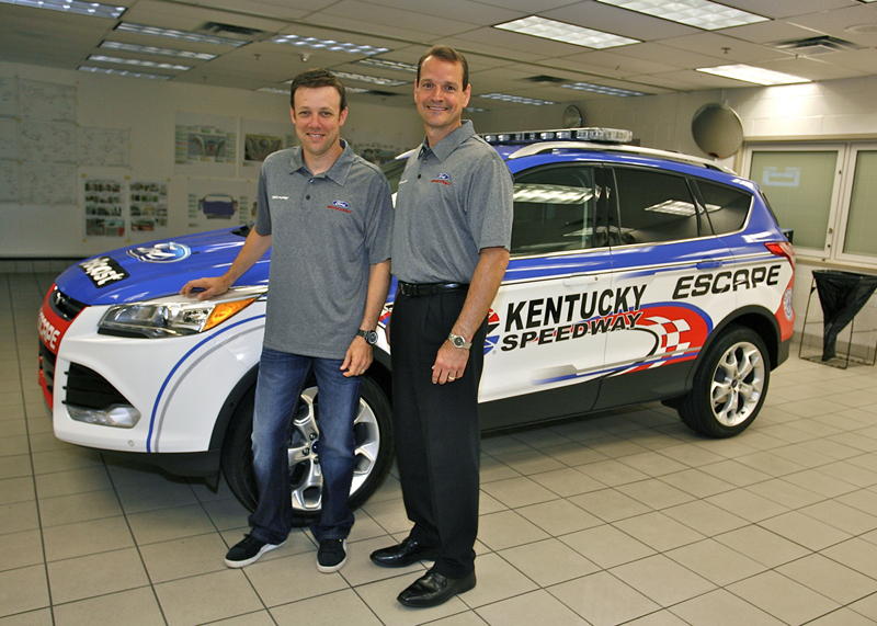 All-New 2013 Ford Escape Set to Pace NASCAR Stable of Races at Kentucky Speedway