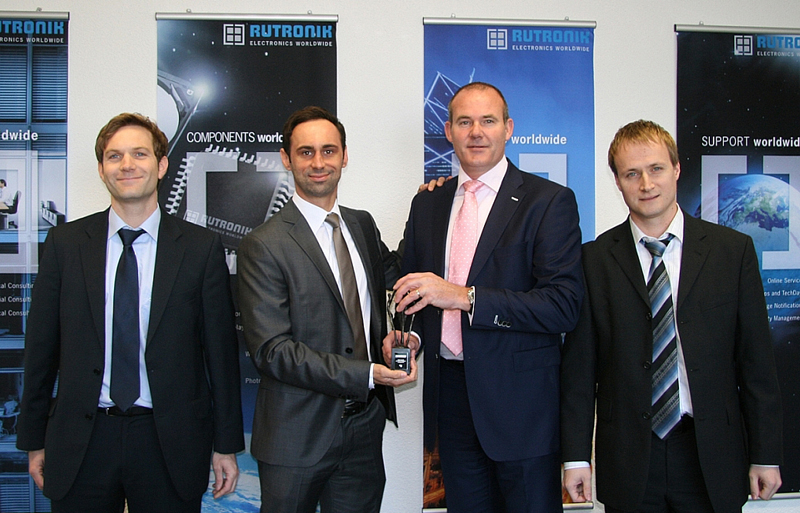 FCI ELX chooses Rutronik as Highest Growth Performance Distributor in Europe 2011